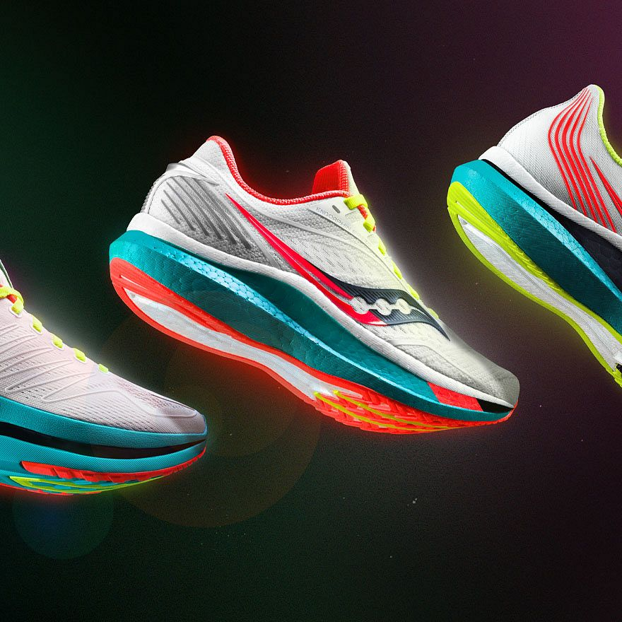 An integrated campaign to launch The Endorphin Collection, Saucony's fastest shoes ever.