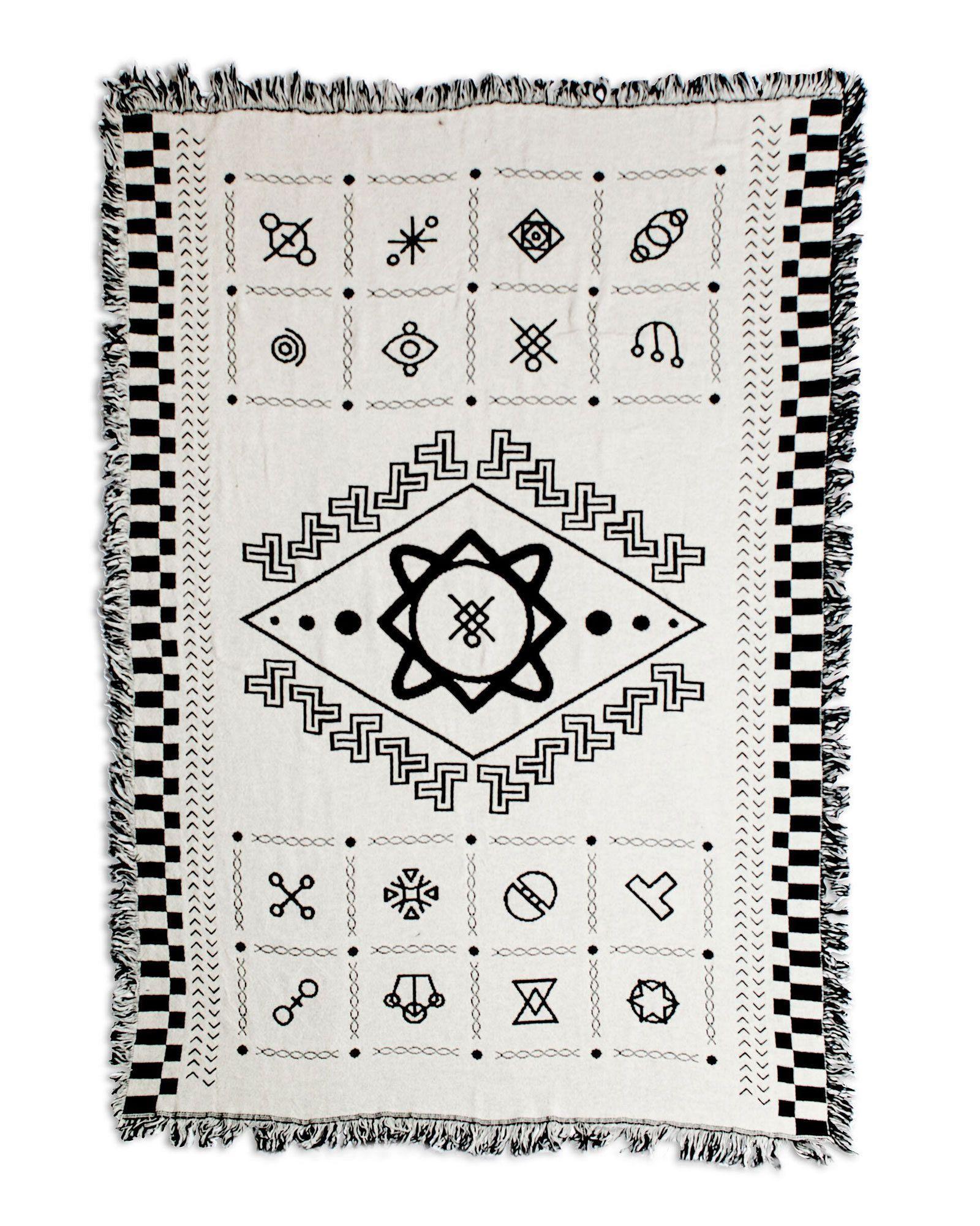 Someoddpilot Glyph Blanket