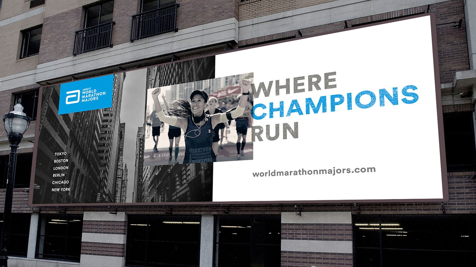AWMM Where Champions Run Billboard