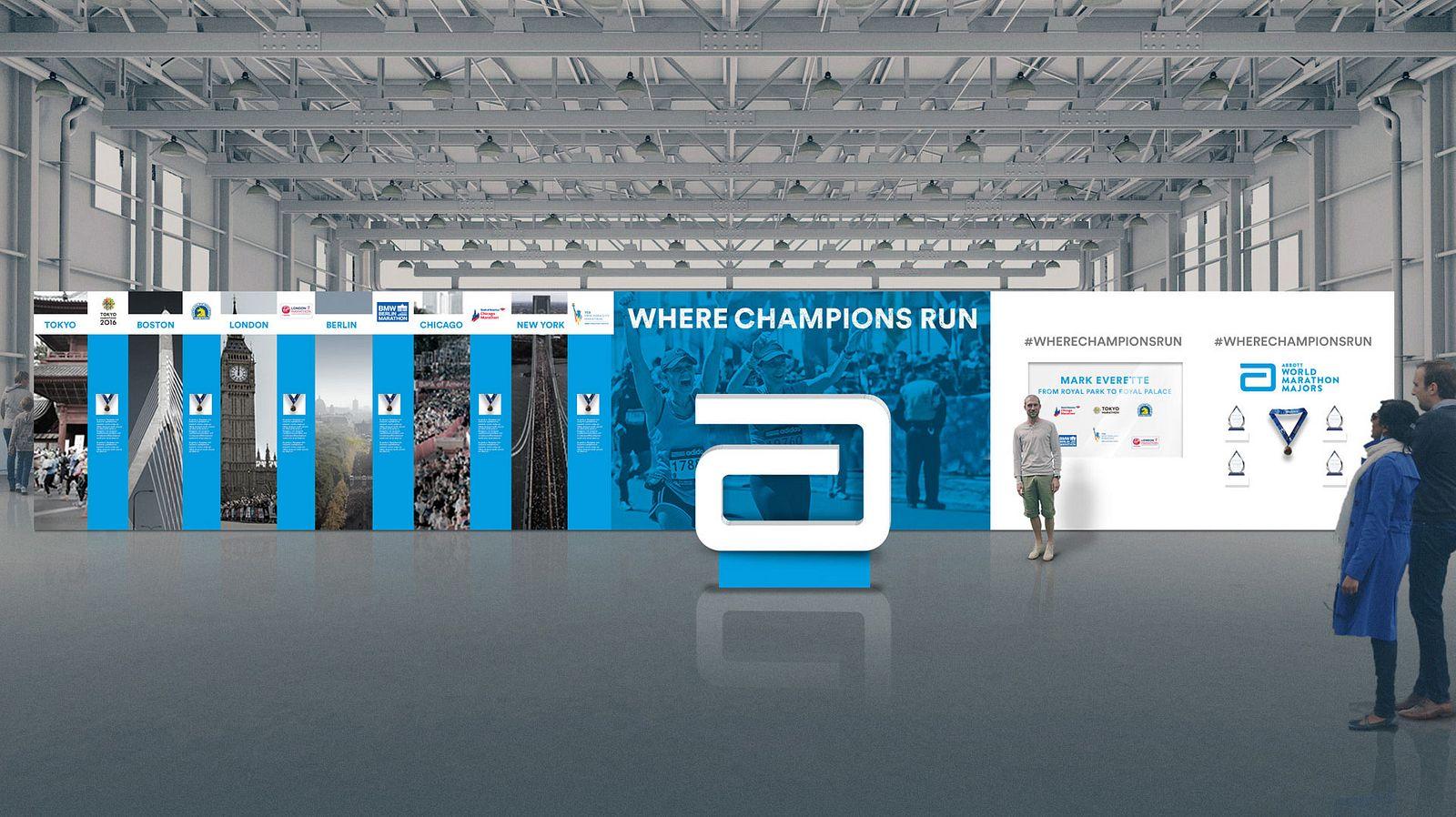 AWMM Where Champions Run Mockup