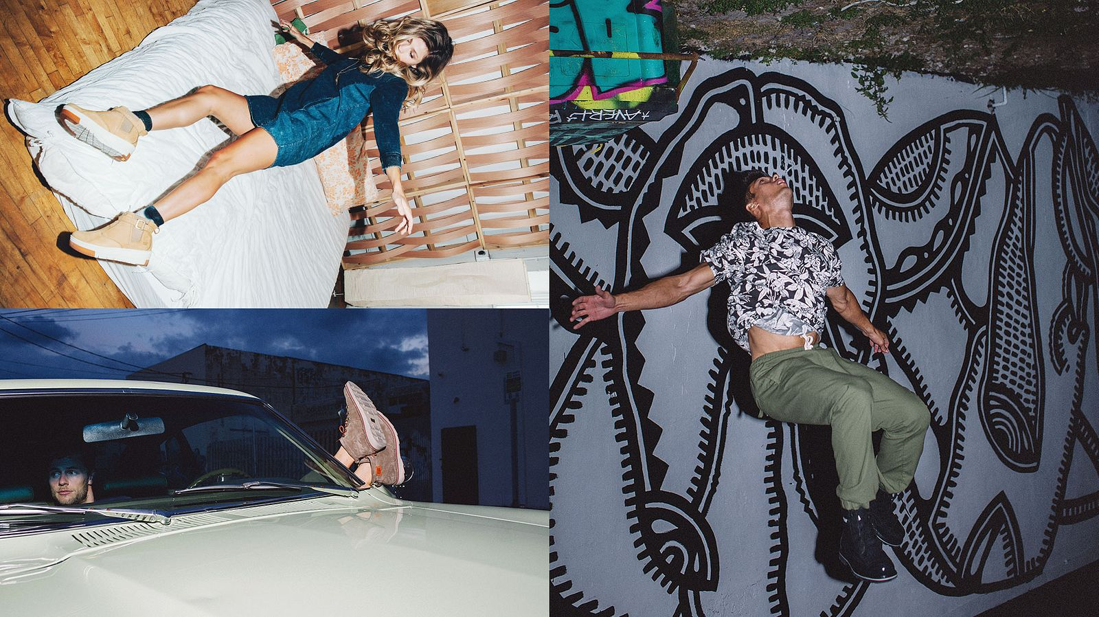 Cat Footwear Photoshoot Fashion Spread – images by Someoddpilot