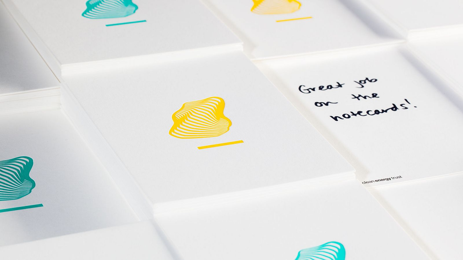 CET thank you cards, designed and produced by Someoddpilot