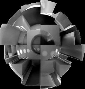 Futuristic 3D Form