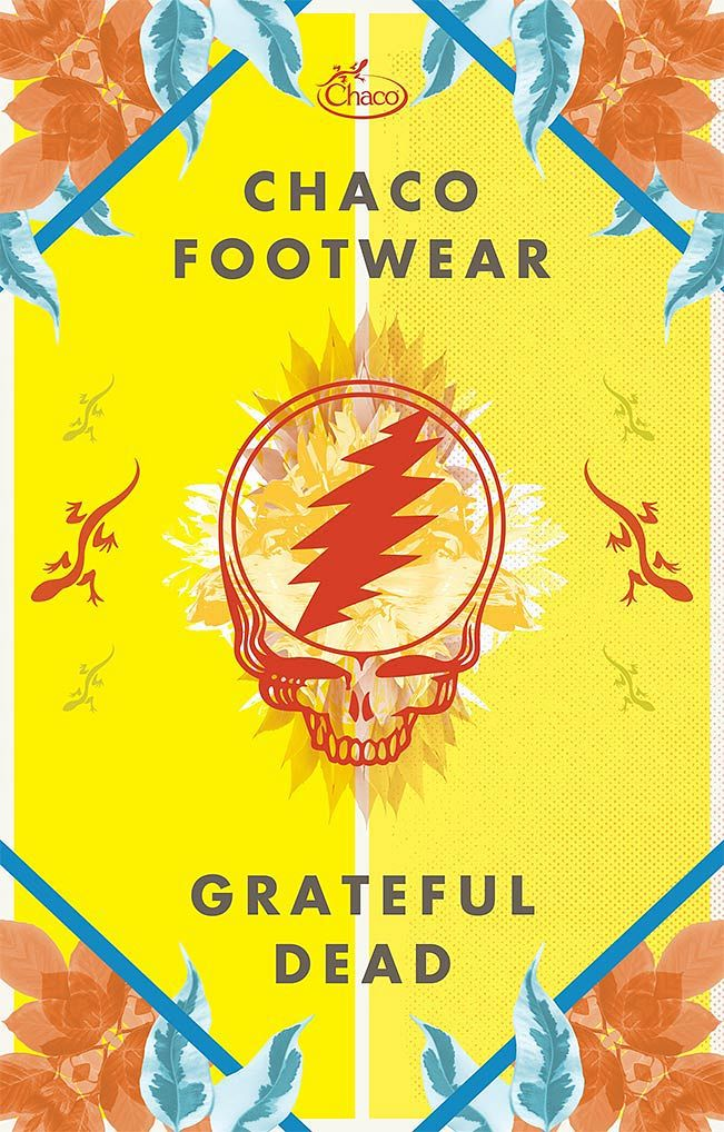 Chaco Grateful Dead Poster