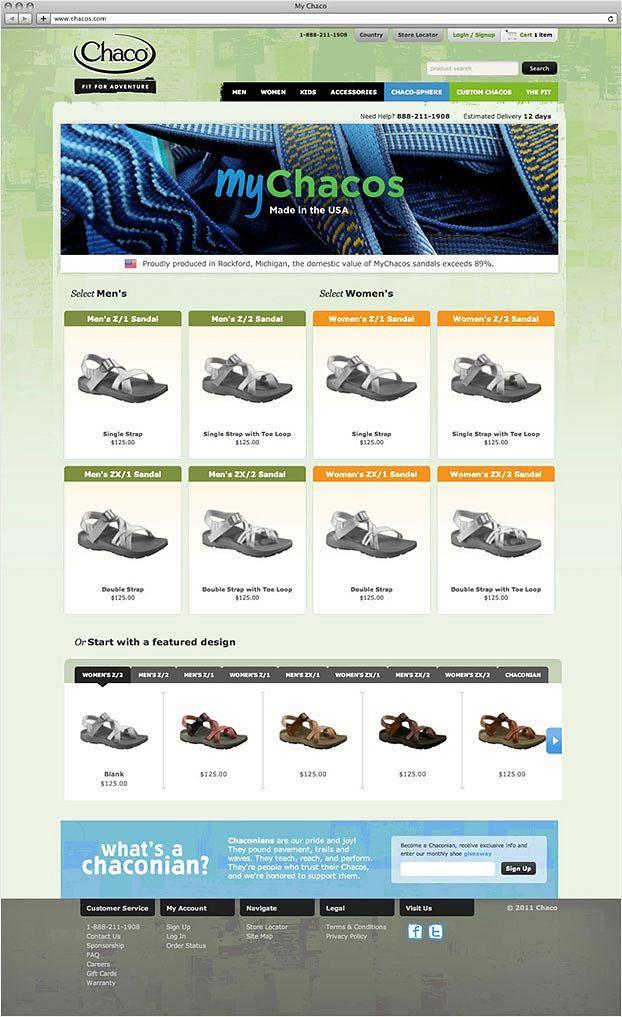 MyChacos Desktop Site