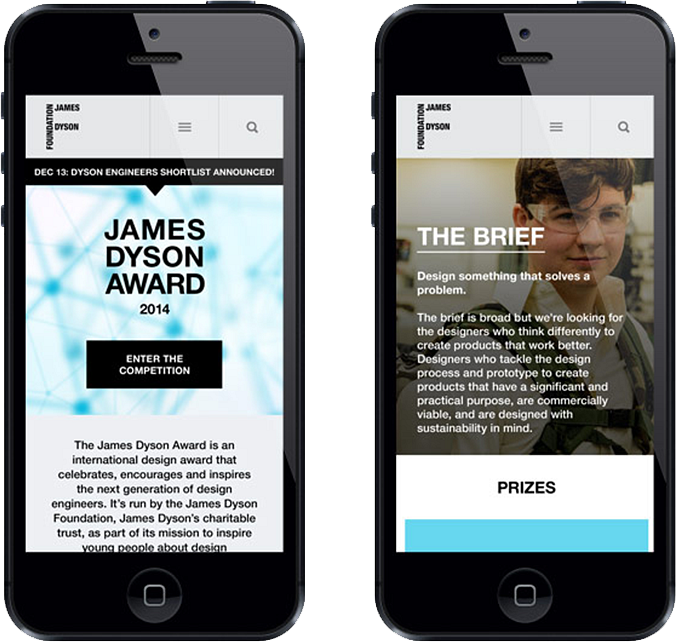 James Dyson Awards Mobile