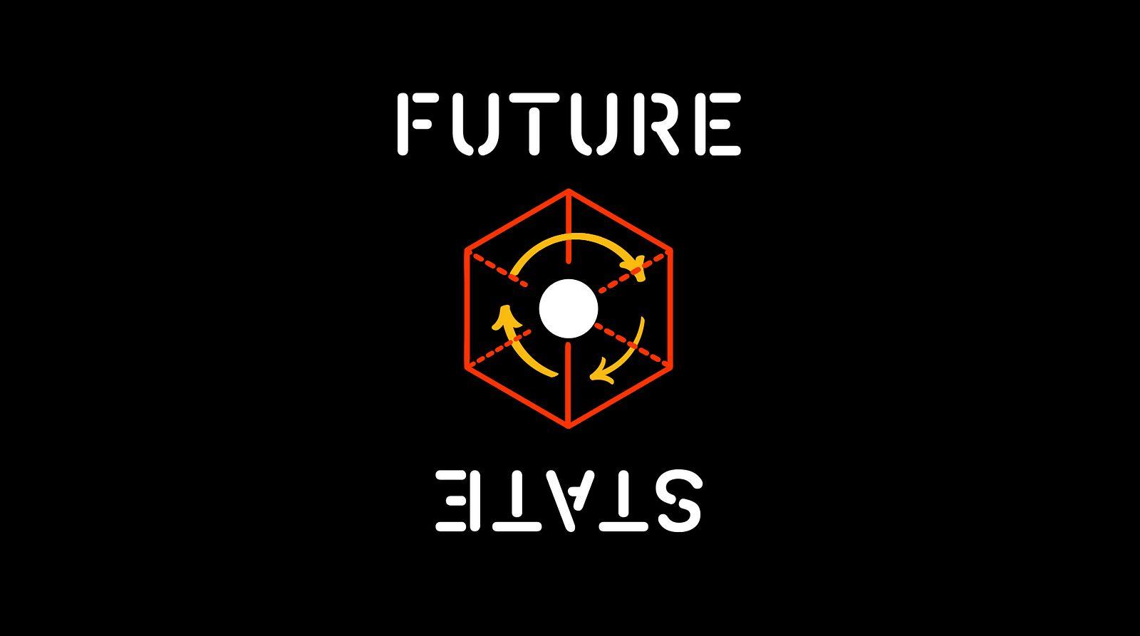Logo for Future State, design by Someoddpilot