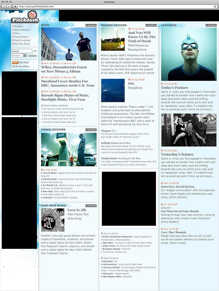 Pitchfork Website