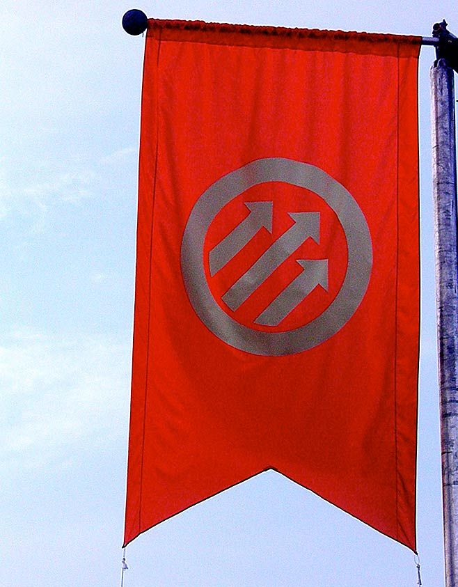 Pitchfork Flag