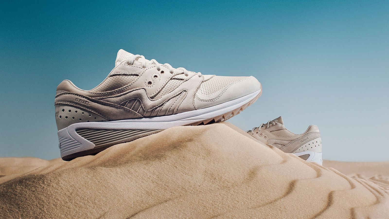Desert shoe for Saucony Originals, styled by Someoddpilot