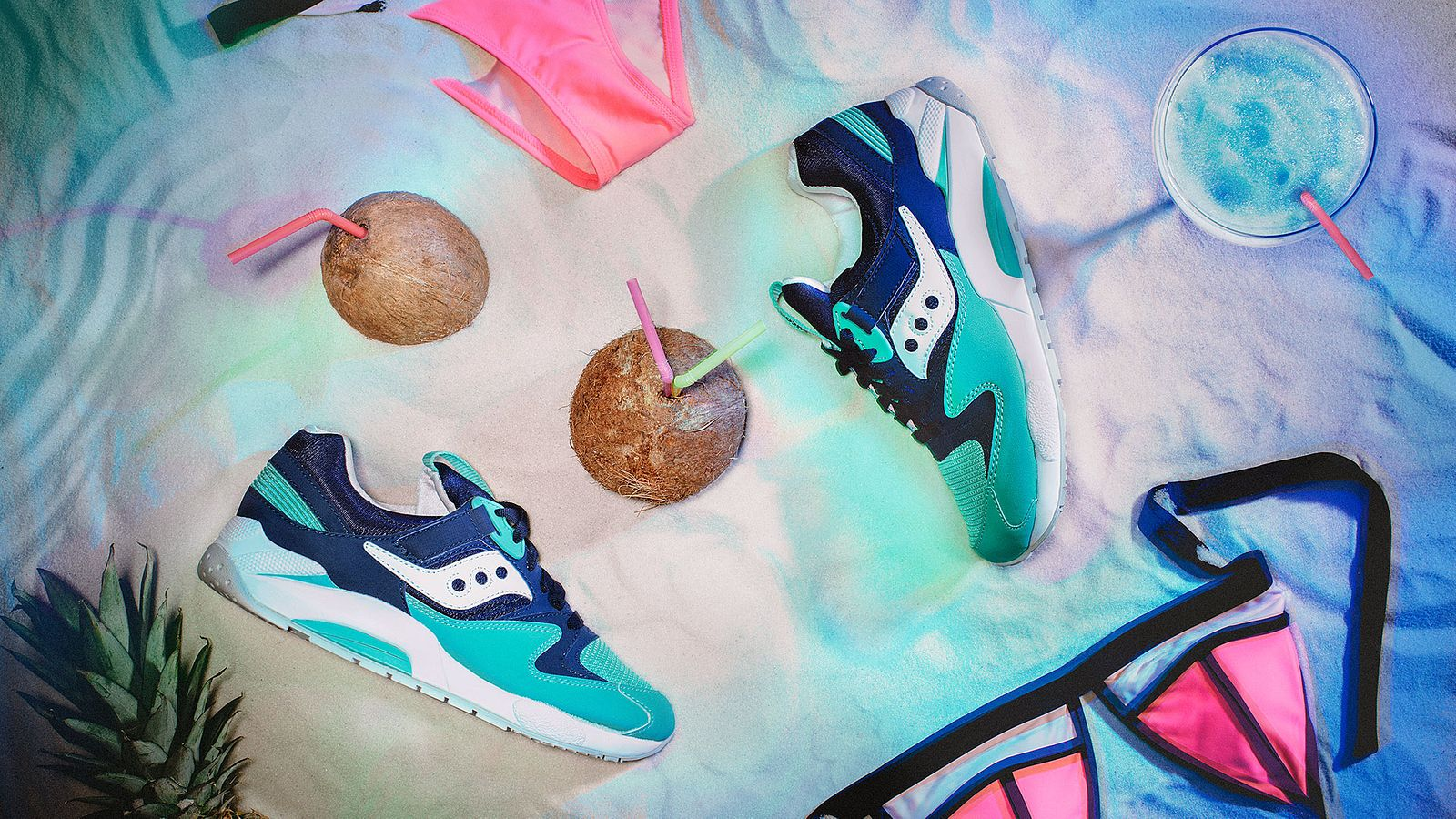 Spring Break shoe for Saucony Originals, styled by Someoddpilot