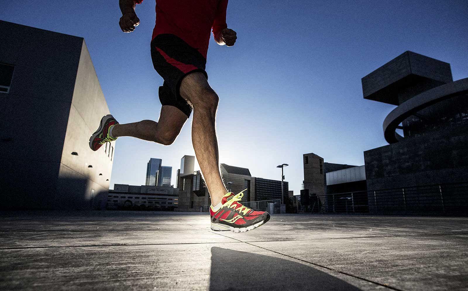 Jogging Athlete