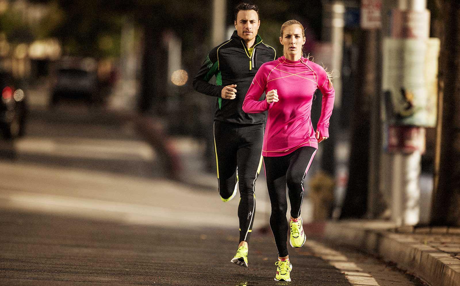 Jogging in Sauconys