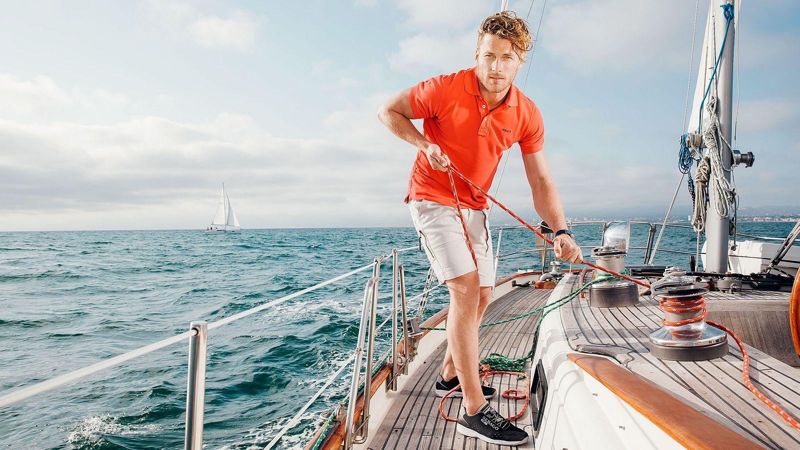 Sebago boating photoshoot, designed and produced by Someoddpilot