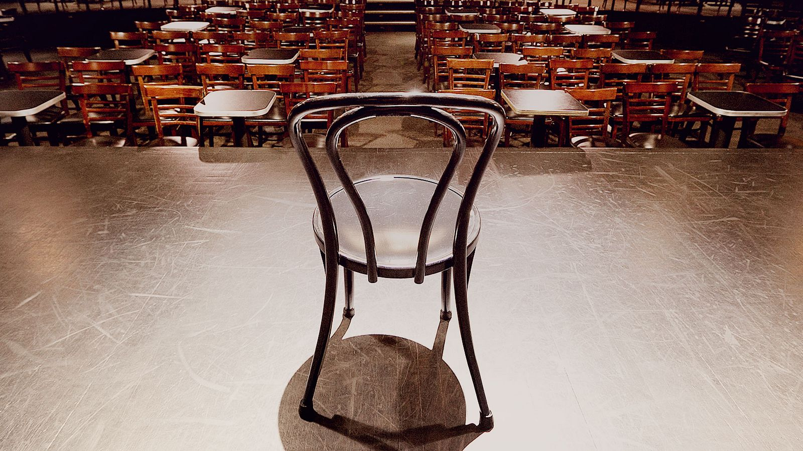 Second City's Iconic Chair – photograph by Someoddpilot