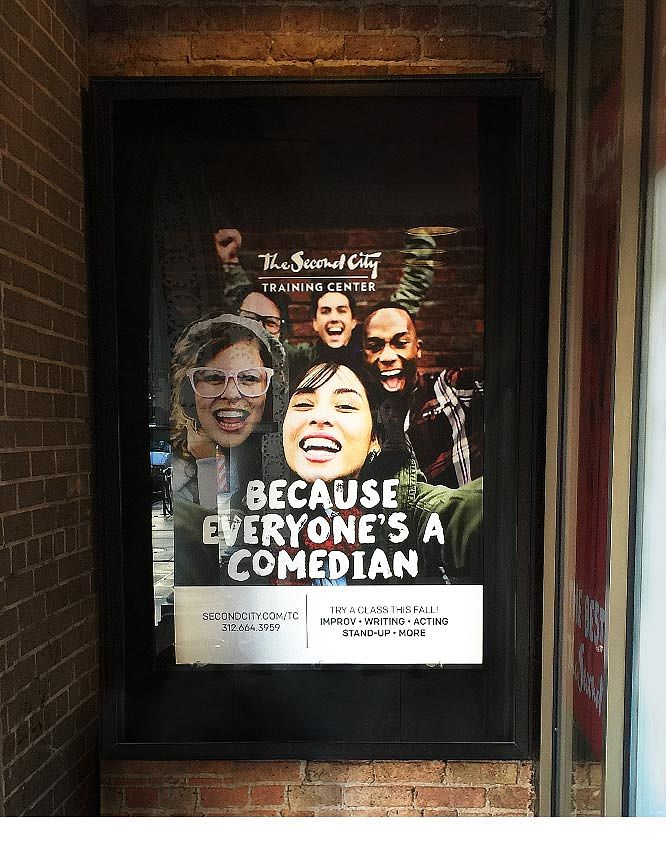 Second City Training Center Poster