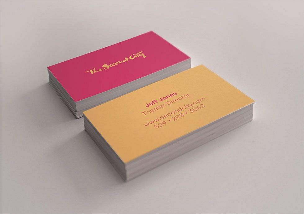 Second City Business Cards