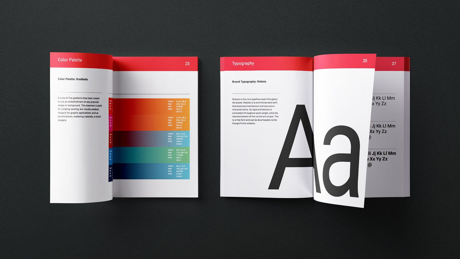 Brand books for STATS, designed and produced by Someoddpilot